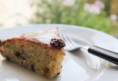Sour Cherry, Poppy seed, cake, orange blossom, frosting, gluten freelifestyle blog uk, lifestyle, lifestyle blog, gluten free blog, gluten free blogger uk, gluten free recipes,