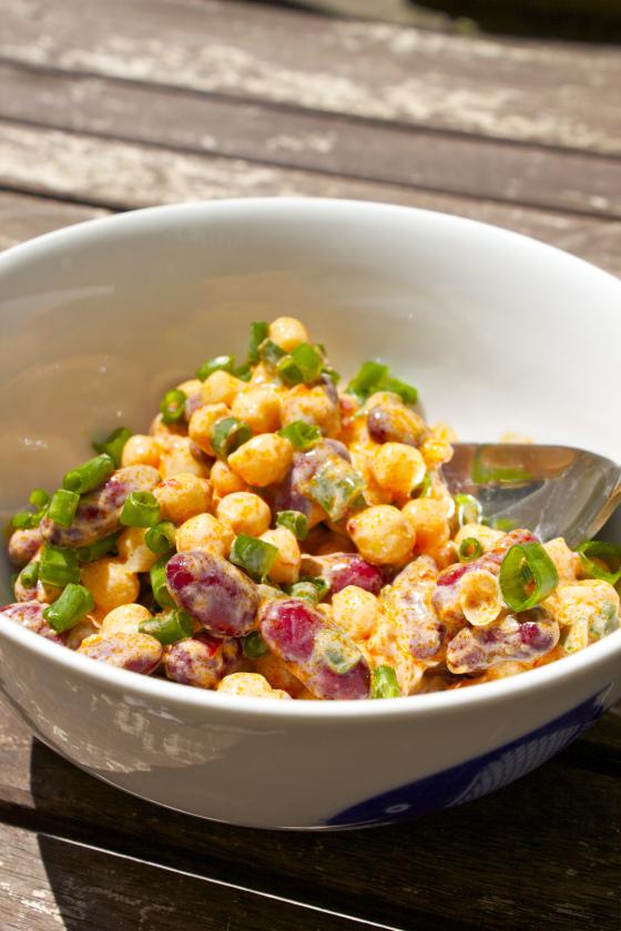 Harissa, Kidney Bean , Chickpea Salad, gluten free