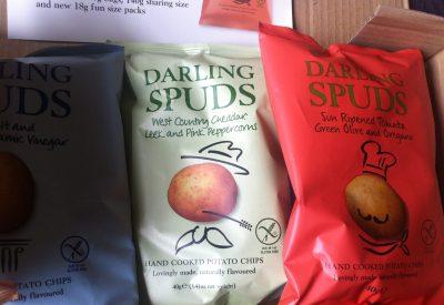 Gluten Free, crisps, darling spuds,