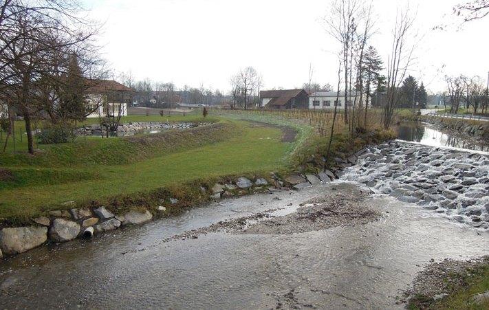 Hochwasser Flutmulde