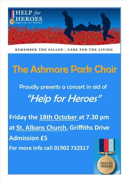 Help For Heroes Concert