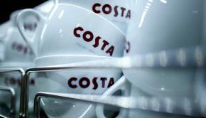Costa coffee shop in Mapperley, Nottingham