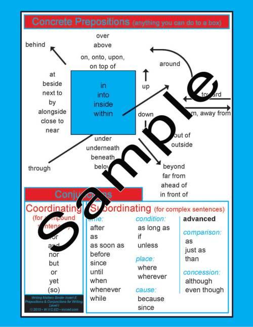 Writing Skills Binder Insert E