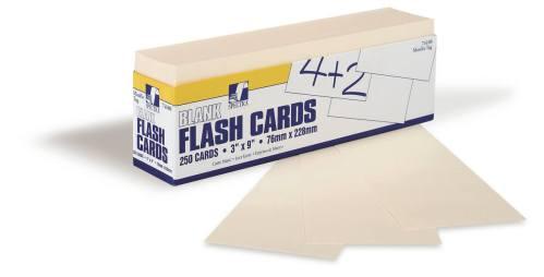 Index Cards - Manila 3x9 250 pack