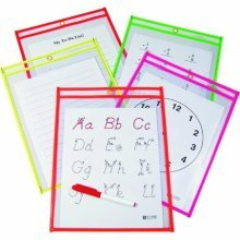 9x12 Dry Erase Pocket - 25 pack (C-line)