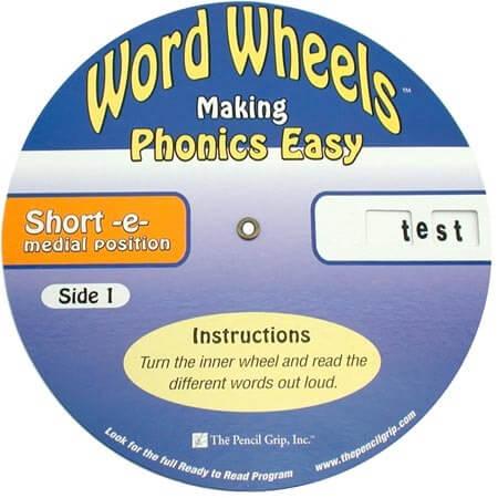 Word Wheels - Short Vowel