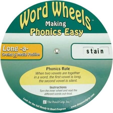 Word Wheels - 3 Wheel Set
