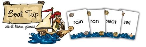 Boat Trip (vowel teams)