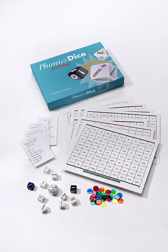 Phonics Dice Super Pack