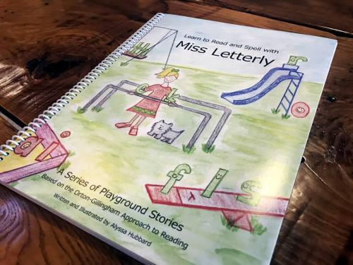 Learn to Read and Spell with Miss Letterly