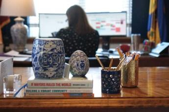 Desk of Charleston Mayor, Amy Goodwin
