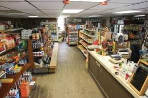 Aisle in the general store