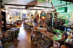Interior of Lost River Trading Post