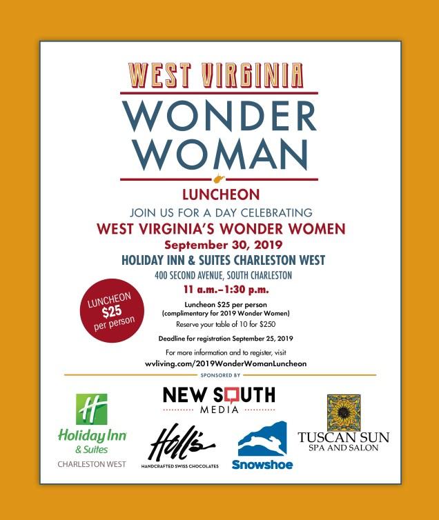 Wonder Women 2019 Luncheon ad