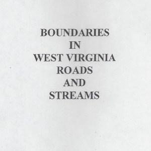 Boundaries in West Virginia Roads & Streams
