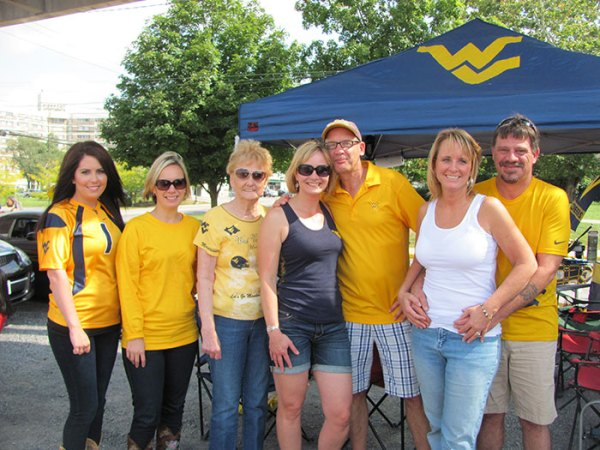 Family affair tailgating