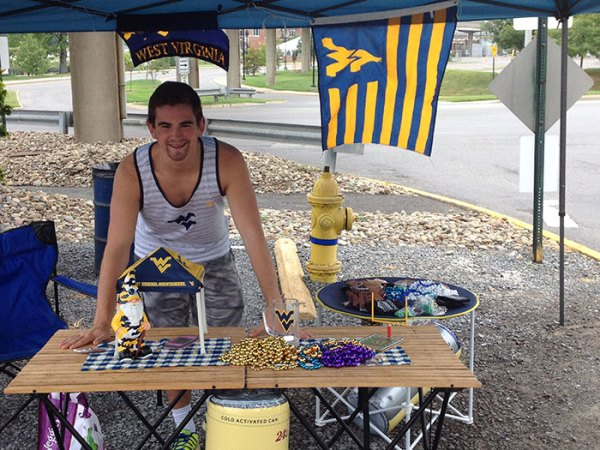 Lance, Jr., is a senior engineering student at WVU