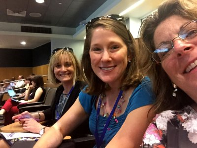 Andy, Leslee and Laurie at Integrate 2015
