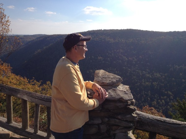 Dave at Coopers Rock