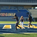 Players score big with the ladies at WVU Football 101