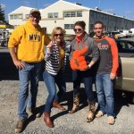 Spirited enthusiasm is the name of the game for WVU tailgaters