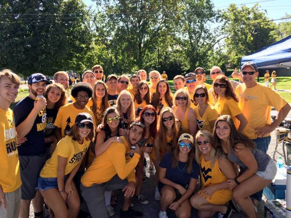 Mountaineer Fans Are As Good As Gold On National Tailgating Day