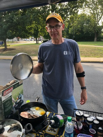 Dave at tailgate