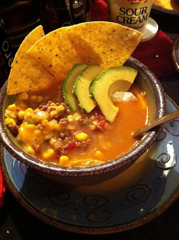 weight watchers taco soup recipe
