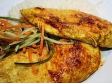 Weight Watchers Grilled Chicken Breasts in Spiced Yogurt recipe
