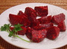 Weight Watchers Roasted Beets with Ginger recipe