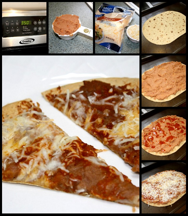 Mexican Pizza for One