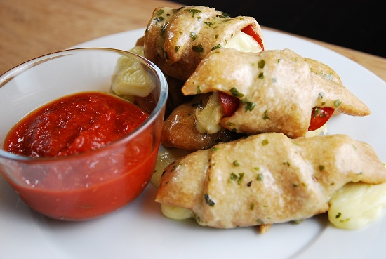 Pepperoni and Cheese Roll-Ups Recipe