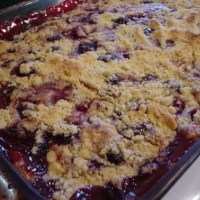 WeightWatchers Blueberry Dump Cake Recipe