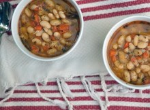 weight watchers four bean soup recipe