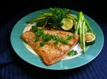 weight watchers grilled salmon with teriyaki sauce recipe