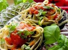 weight watchers portobello pasta bowls recipe