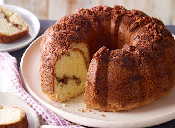 Weight Watchers Moist Sour Cream Coffee Cake Recipe
