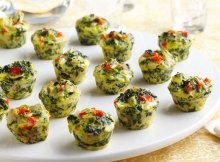Weight Watchers Mini Spinach-Artichoke Frittatas Recipe