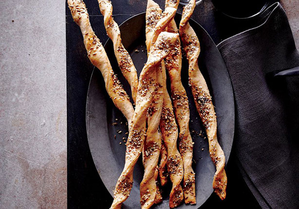 Weight Watchers Whole Wheat Seeded Breadsticks Recipe