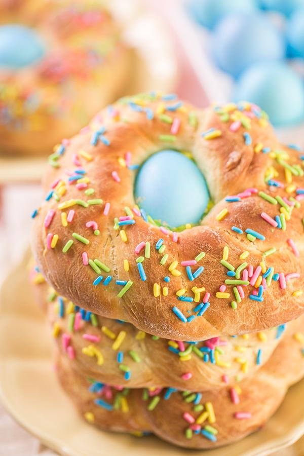 Italian Easter mini bread