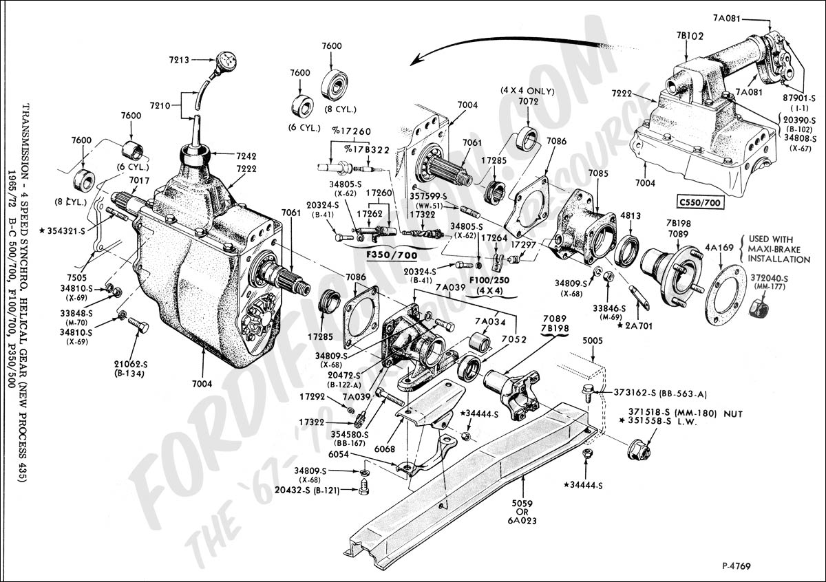 Ford Np435 Diagram