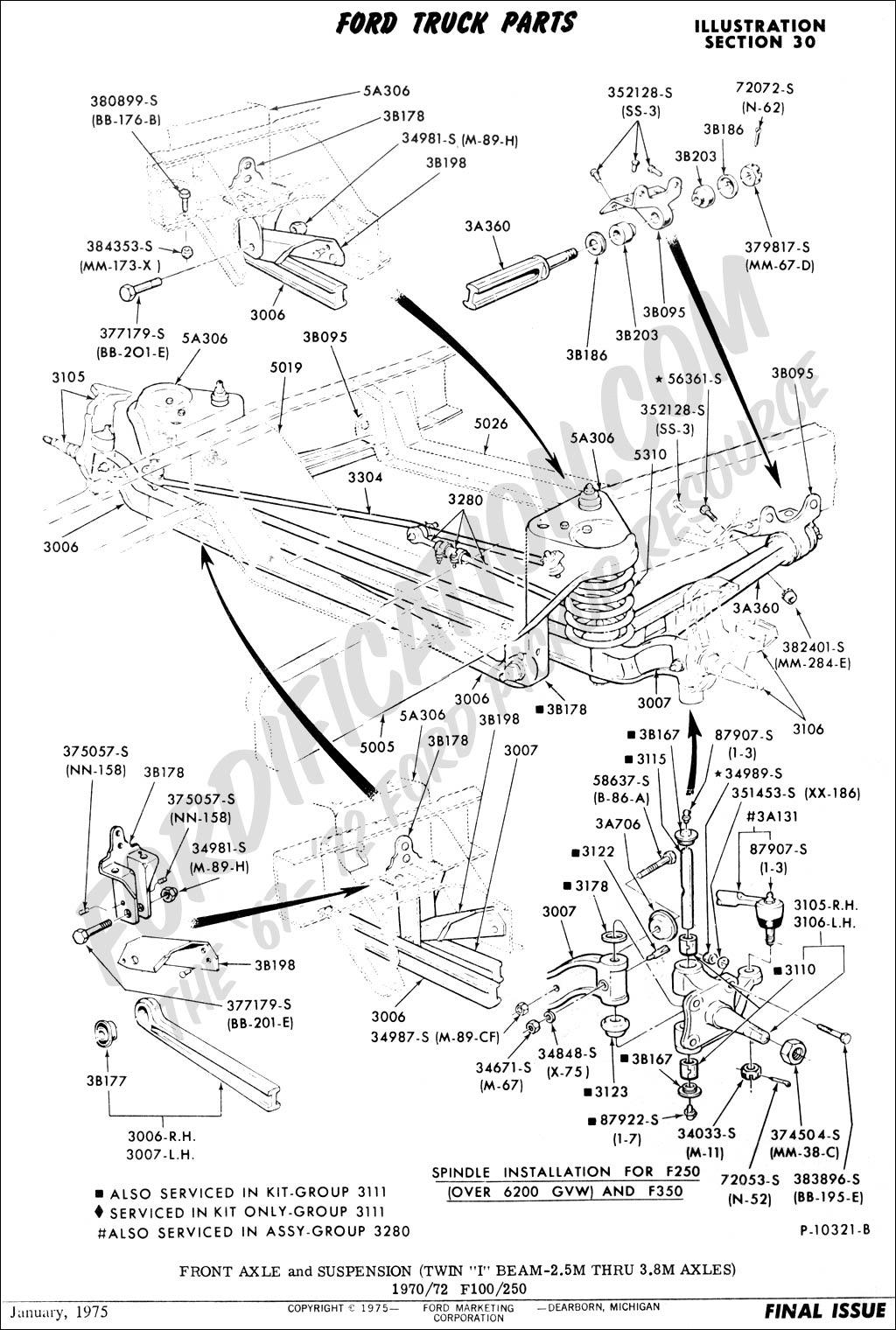 Dodge 97 Ram 4x4 Front Axle Diagram