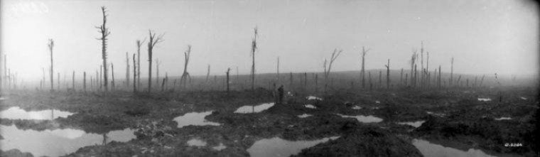 Mud on he Passchendaele Battlefield