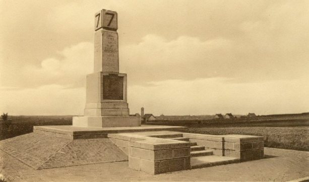 7th Division Memorial in the 1930s