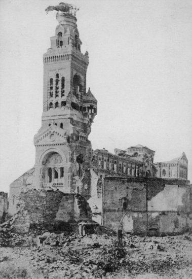 Albert Basilica in ruins