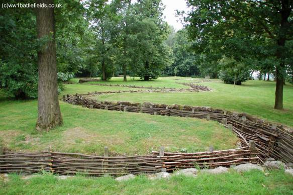 Trenches at Bayernwald