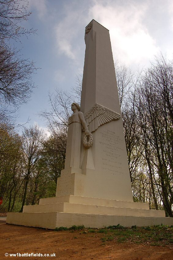 The French Memorial at the top of Mont Kemmel