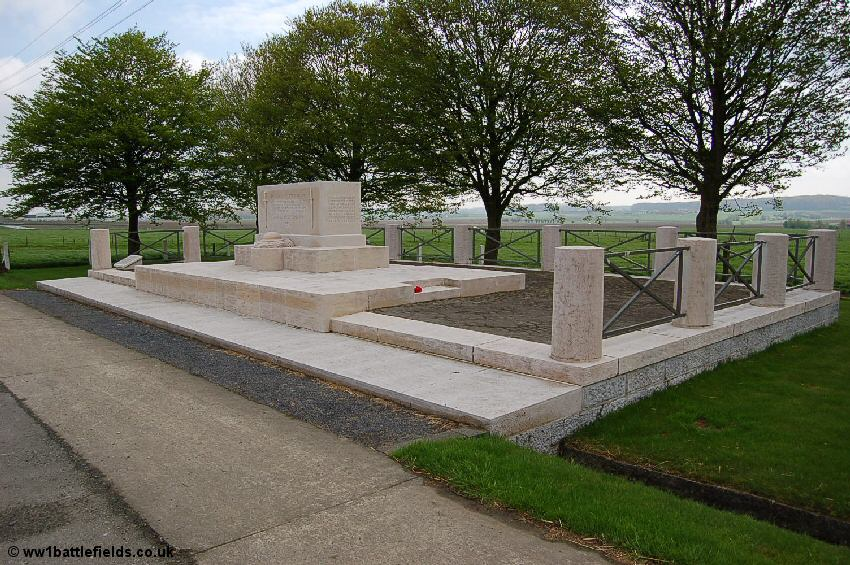 The American monument near Kemmel