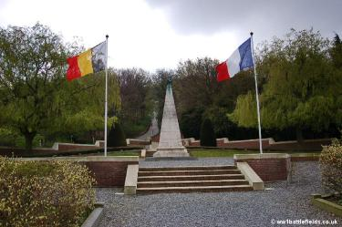 The French Cemetery and Ossuary at Kemmel
