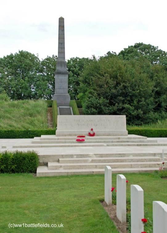 49th Division Memorial at Essex Farm